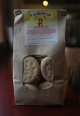 Warming Cracker/Cold Water Cracker, G.H. Bent Co.: While the name is deceiving, these soft crackers made with cold water are heated to go nicely with tea or coffee and have been around since the 19th century.