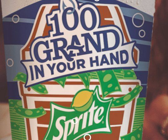 1 Grand Prize A Check For 100 000 00 Enter The Code On Any Popeyes 32 Or 44 Oz Sprite 100 Grand Cup And You Could Instantly Win 100 Sprite Grands The 100