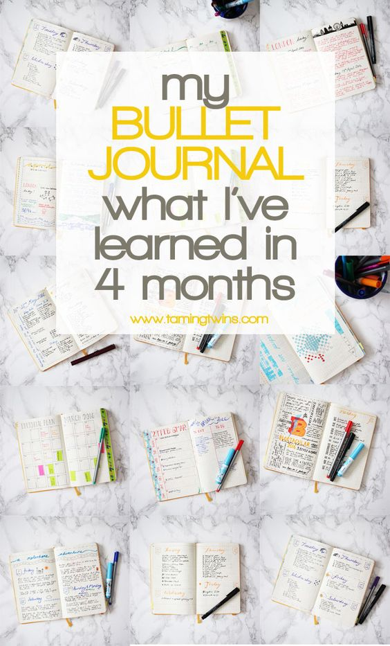 A four month Bullet Journal review, peek inside my Bullet Journal for the last few months, my daily spreads, weekly spreads, my journaling and to do lists. What's worked and what hasn't. http://www.tamingtwins.com