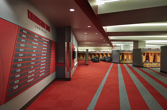 The New Home Of Cougar Football At Washington State University Designed By ALSC Architects WSU Operations Building