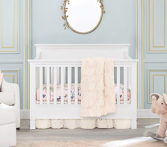 Larkin 4 In 1 Convertible Crib In 2020 Pottery Barn Crib Cribs Larkin Crib