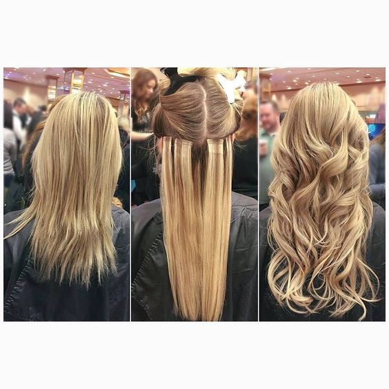 Babe Hair Extensions Tape Removal 98