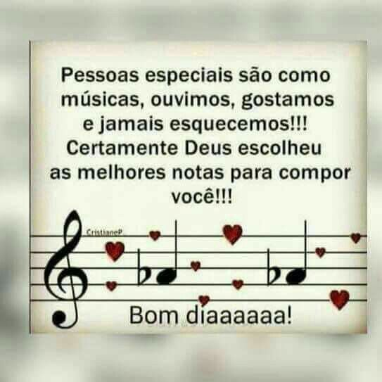 Linda Mensagem Pessoasespeciais Musica Bomdia Com