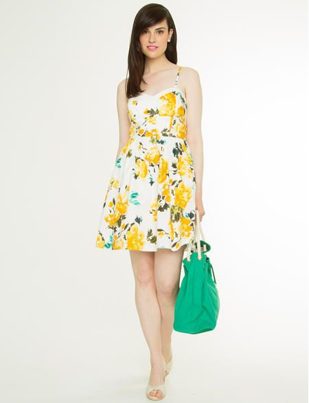 Stretch Poplin Floral Dress, my new dress! Can't wait to wear it!