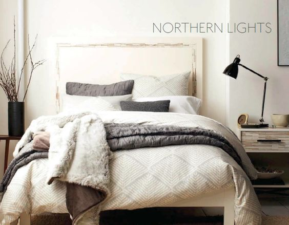 West Elm Gray Bedding Collection