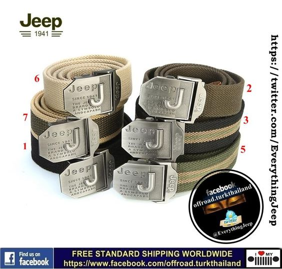 #Jeep #Jeeper #Lifestyle #Belt #Ebay #Freeshipping Worldwide   http://item.ebay.com/221427500625   #Hashtags #Fashion #Clothing pic.twitter.com/y4OlvdbIws #jeepedin