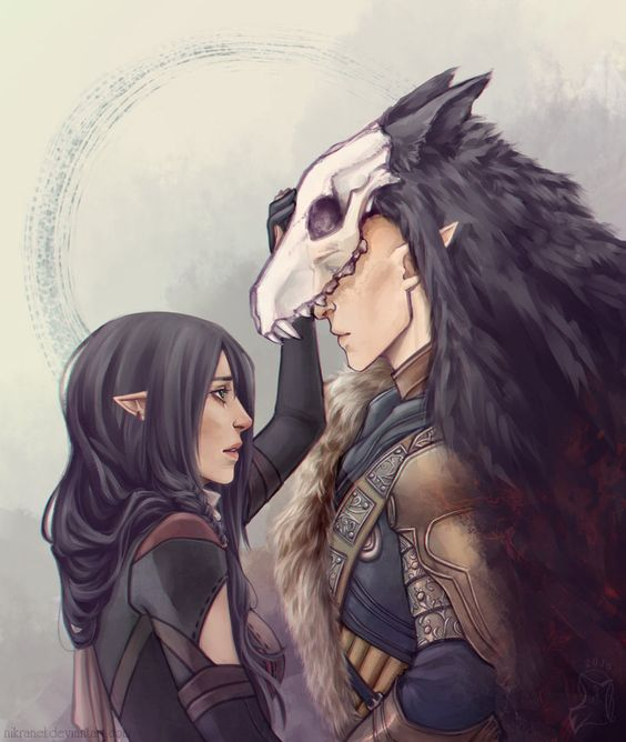 Wolves by Nikranel on DeviantArt