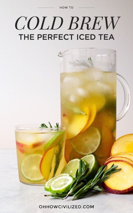 How To Make The Best Iced Tea Cold Brew It With Images