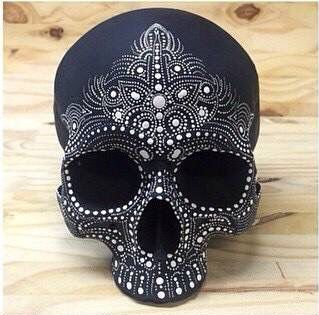 Anybody know where I can find a skull head to decorate??? Comment on this post…