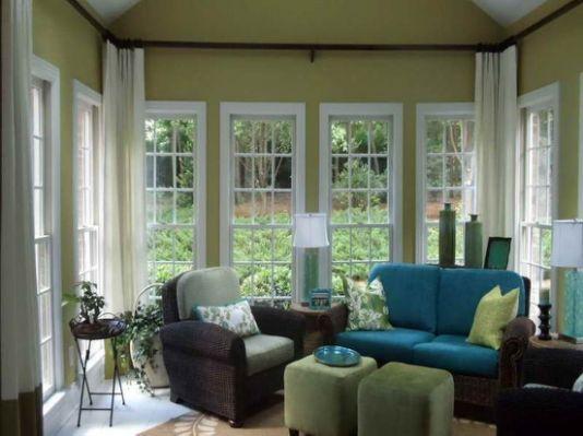 21 Best Window Treatments For Sunrooms Sunroom Furniture