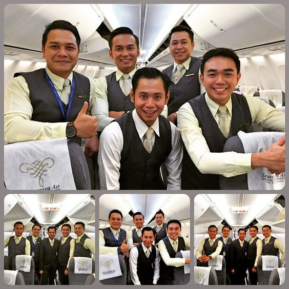 Fly your dream flight with us! #maleflightattendant #crewfie by suryawee