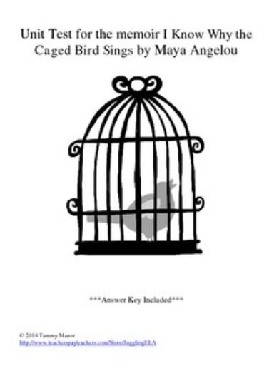 thesis of i know why the caged bird sings I know why the caged bird sings  reading is an ongoing theme through maya's childhood and books even become her lifeline after mr - i know why the caged bird sings.