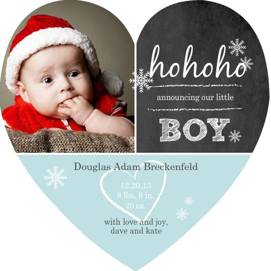 Snowflakes Creative and Babies – Free Online Baby Announcements