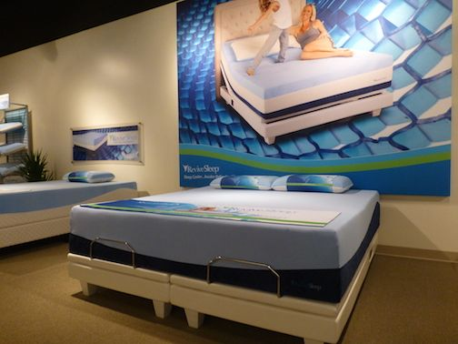 Revive Sleep Gel Mattress Collection With Semi Solid Revivegel Fusion A Conforming Waffled Las Vegas Market Pinterest And
