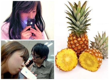 En Japón los iPhone huelen a fruta cuando con cargados