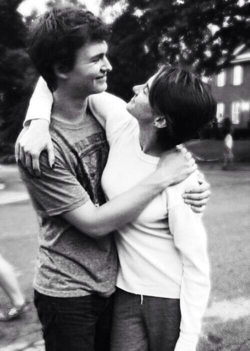 Augustus Waters and Hazel Grace | Okay? Okay. | Pinterest ...