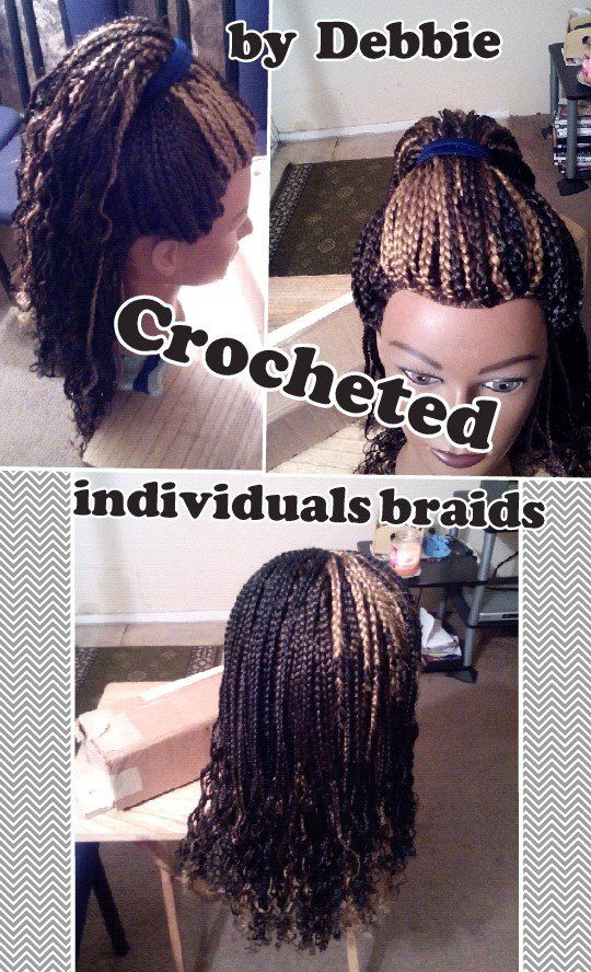crochet individual individual braids and more individual braids braids ...