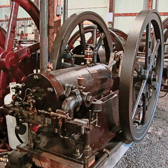 Coolspring Spotlight: 1900 10 hp Springfield Model B - Gas Engines - Gas Engine Magazine