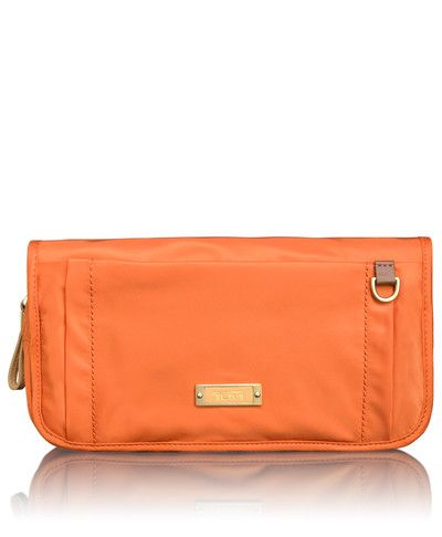 The Nice wrap around cosmetic pouch - by Tumi