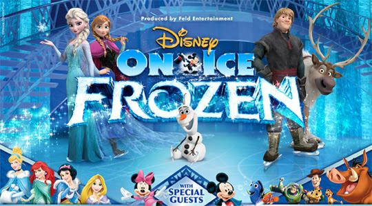 Bought our tickets for December 30th!!! Taking Olivia & our niece since they both LOVE Frozen ...can't wait to see how excited they are when they get their tickets on Christmas!!!!! :)
