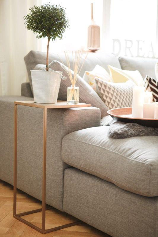 Sofa \u0027Newman\u0027 im Wohnzimmer der Bloggerin easyinterieur Interiors