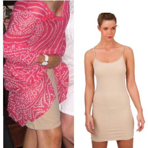 Womens Spandex Slip Dress Singlet Cami Long Top White Black
