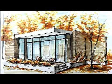 Manual Rendering Architecture Interior Speed Drawing Youtub