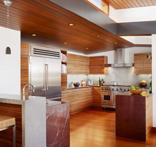 A modern tropical kitchen.....awesome! | Just Because I Hate White ...