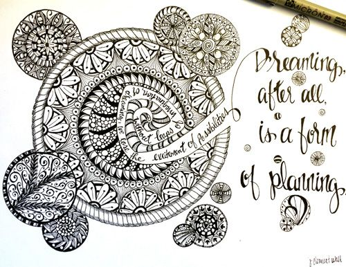 Dreaming after all is a form of planning. ~ ~ Day10-Avery-sm
