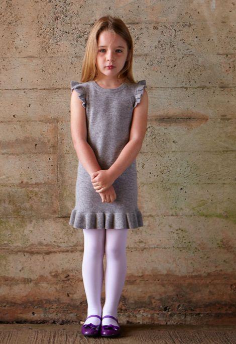 Ruffle dress by Eden & Zoe