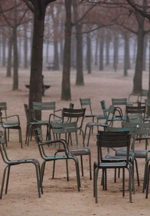 Luxembourg paris and chairs on pinterest - Chaise jardin du luxembourg ...