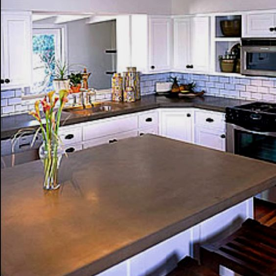 Concrete Kitchen Countertops: Pinterest • The World's Catalog Of Ideas