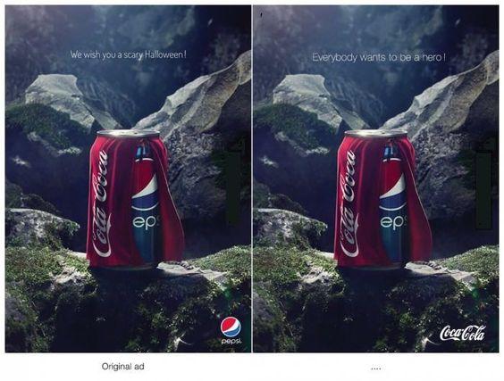 Coca Cola vs. Pepsi advertisements