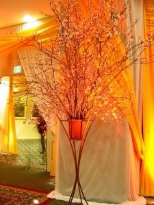 orange-wedding-decorations