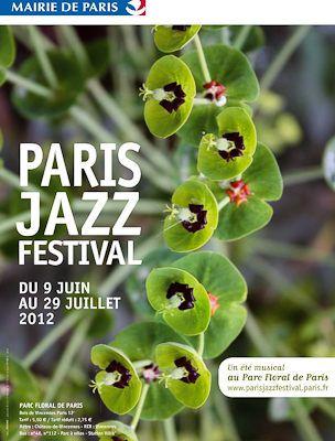 Official poster of the Paris Jazz Festival in the Parc Floral de Paris. The Website for the Parc Floral is: www.parcfloraldeparis.com with maps and 360 panoramic photos. Events calender at www.new-paris-ile-de-france.co.uk
