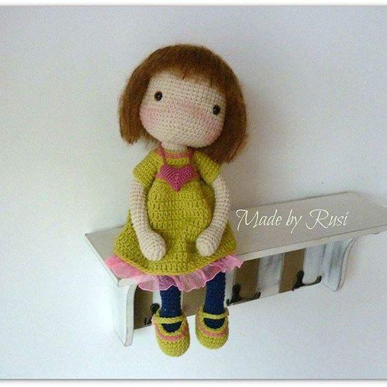 #crochet #crochetdolls #amigurumi #amigurumidolls #madebyrusi #rusidolls