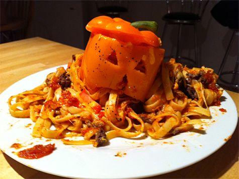 Halloween Food DIY #halloween #food Gips halloween Pinterest - halloween entree ideas