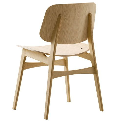 Fredericia Soborg Chair 3050 Wood Base Lacquered Oak Fredericia Furniture Furniture Chair Furniture