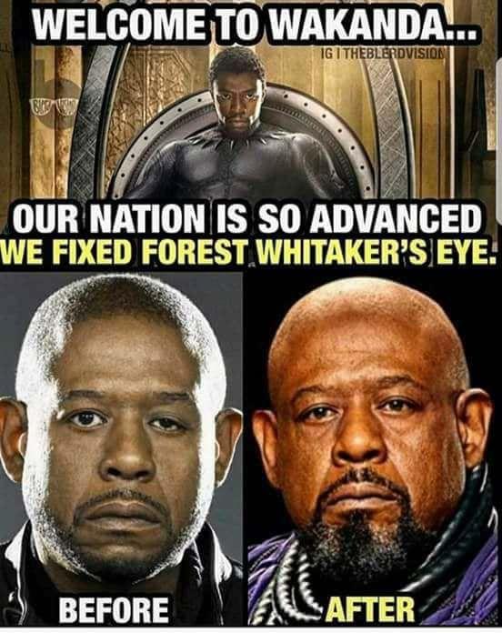 Wakanda Medicine Did That Funny Memes Hilarious