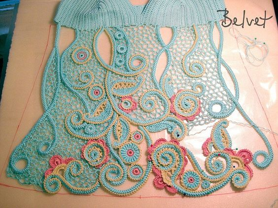 Irish crochet... How beautiful...