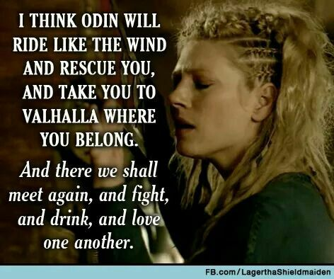 ragnar and lagertha relationship with god