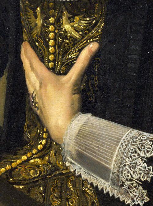 Frans Hals - Portrait of a Woman (Marie Larp?) c1635, via Marisa Franco Del Navio: