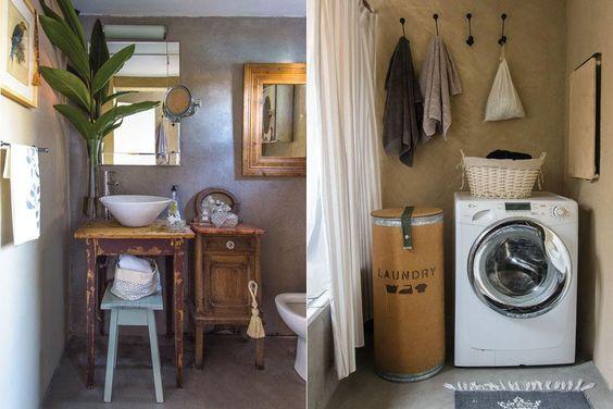 Baño Reciclado Microcemento:En el baño principal, piso y paredes revestidos en microcemento
