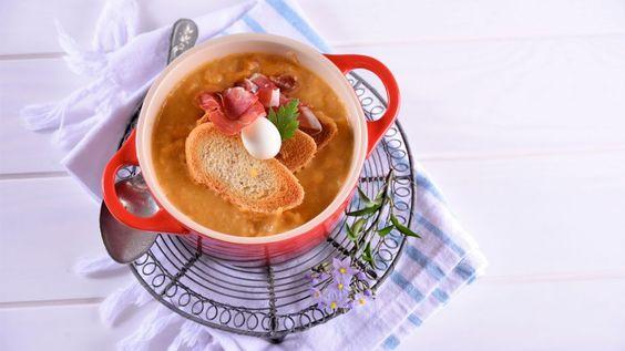 Receta   Crema de jamón - canalcocina.es