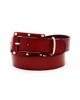 Studded Belt by MICHAEL Michael Kors at Neiman Marcus.#NMFallTrends
