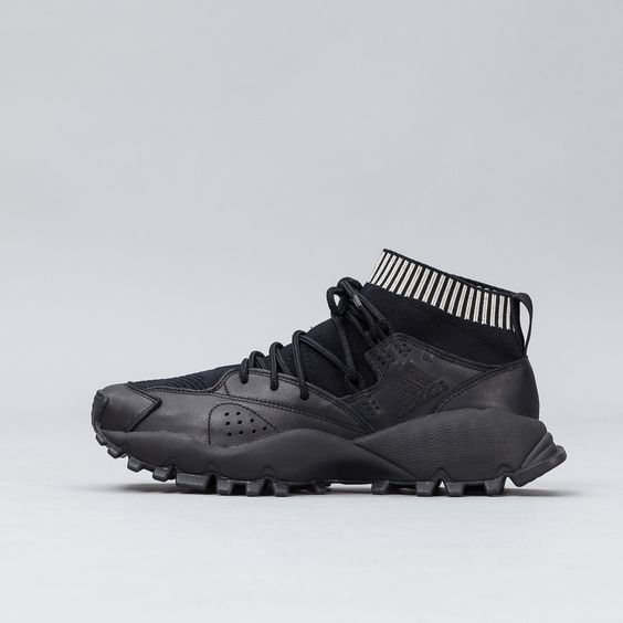 Adidas - SEEULATER Primeknit GTX in Black - Notre - 1