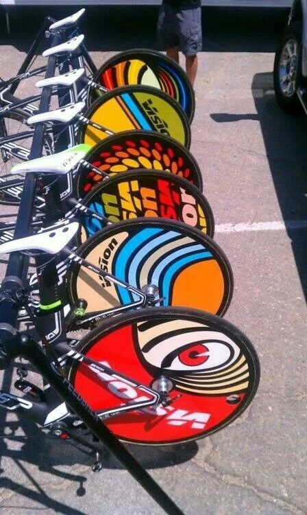 Cool bike wheels