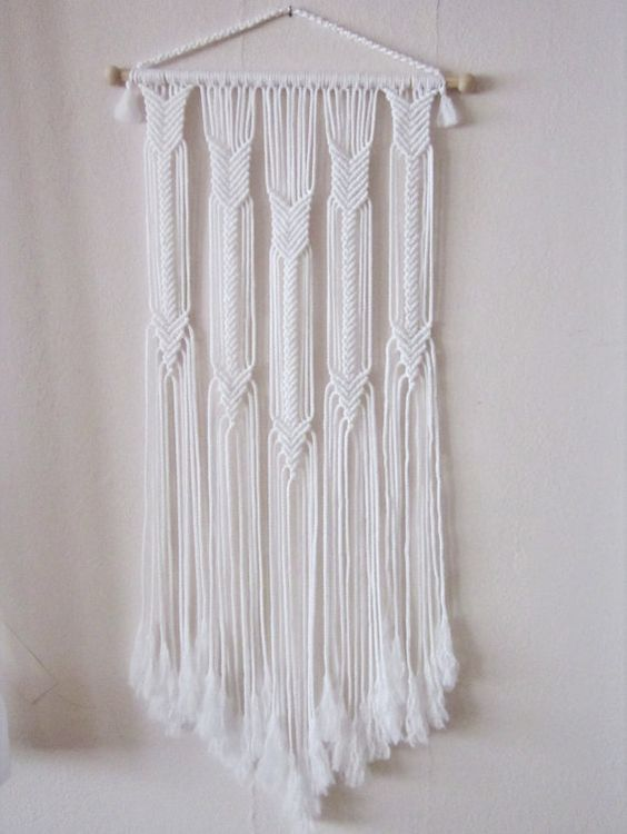 macrame wall hanging arrows unique and stylish wall decor for your home or office nice wall hanging office organizer 4