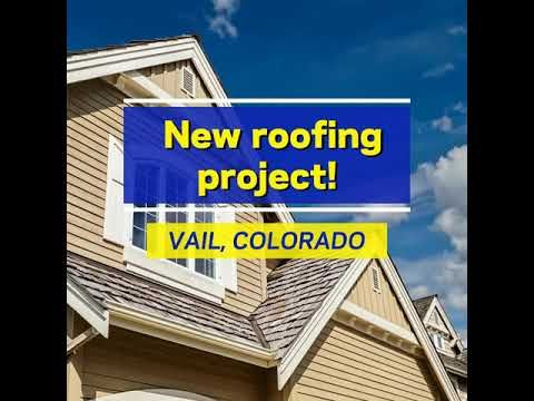 Vail Colorado Residential Roof Replacement Repair Reliable Roofing Systems Youtube In 2020 Colorado Vail Colorado Roofing Systems