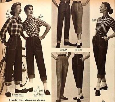 Tuppence Ha'penny: Building a Vintage Wardrobe: Skirts & Trousers